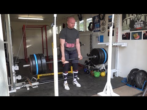 Quick tour at HPC powerlifting gym and some training footage