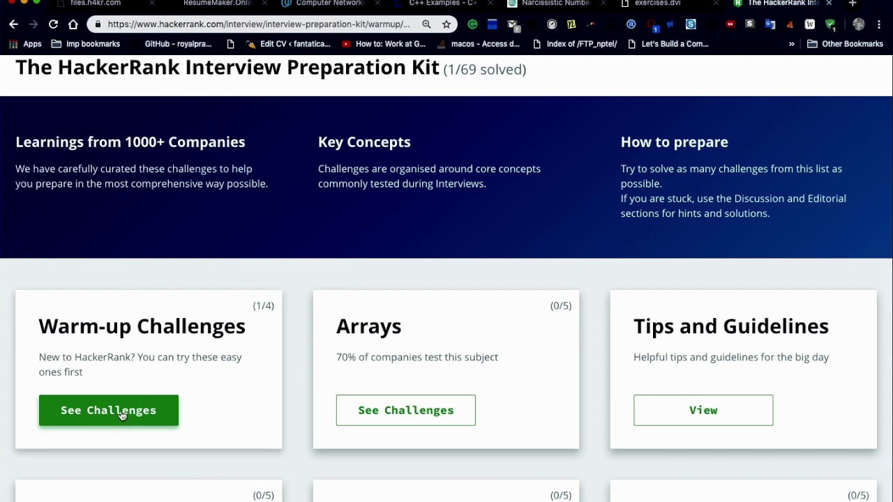 Counting Valleys || The HackerRank Interview Preparation Kit || Learnings  from 1000+ Companies