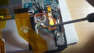 Планшет Irbis . Заміна батареї. Ставимо батарею з 2-ма проводами, замість батареї з 3-ма.