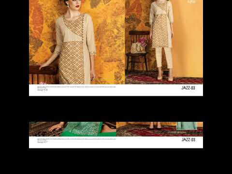 KAYA JAZZ 3 DESIGNER KURTI WHOLESALE SUPPLIER GUJARAT