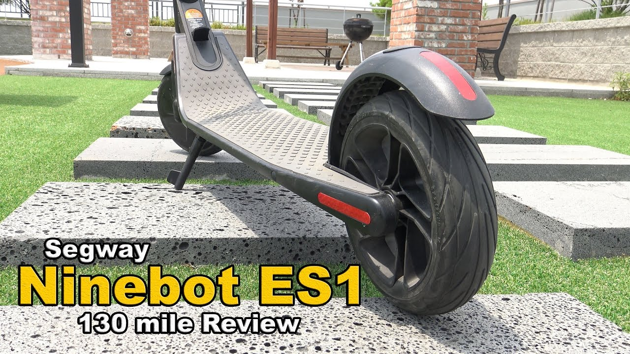 Segway Ninebot Es1 Electric Scooter Review