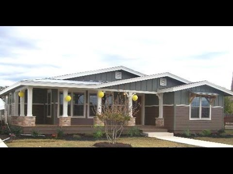 Lalinda Triplewide Built In Porch Mobile Modular Homes Video For Texas You