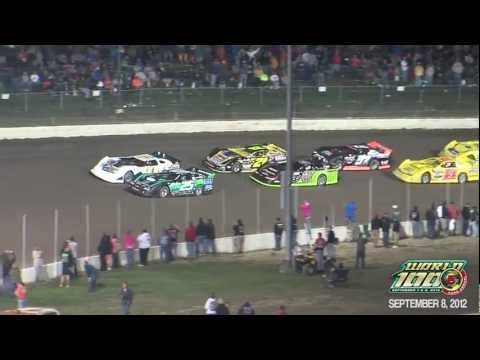 2012 World 100 feature highlights from Eldora Speedway