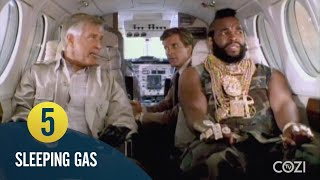 12 Ways to Get B.A. Baracus on a Plane | The A-Team | COZI Dozen