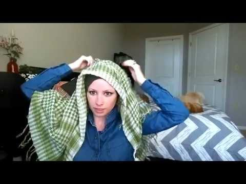 How To | 3 No Pin Keffiyeh Niqabs