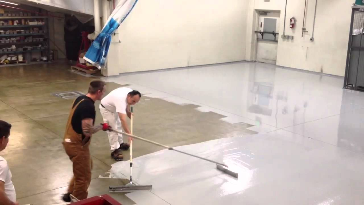 Epoxy Floor Benjamin Moore 206 431 3606 Youtube