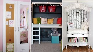 10 Bedroom Wardrobe and Cabinet Upcycled Ideas