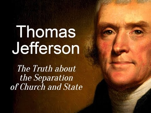 a history of thomas jeffersons wall of separation between church and state Home / white papers and essays / church and state / thomas jefferson a wall of separation between church & state of church and state the wall of separation.