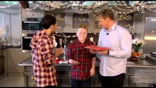 Gordon Ramsay Christmas Cookalong Live 2011 Part 4