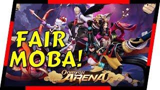 Onmyoji Arena - NEW BEST MOBILE MOBA?   MGQ Ep. 103