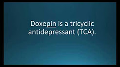 How to pronounce doxepin (Sinequan) (Memorizing Pharmacology Flashcard)