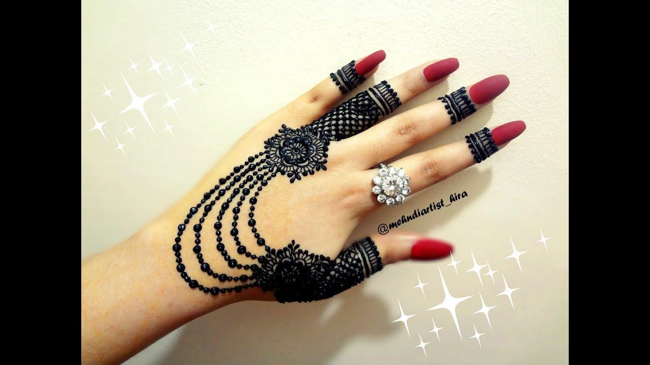 simple stylish simple mehndi design easy and beautiful