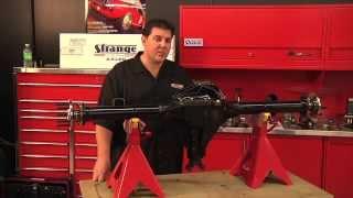 Strange S60 Mopar Rear End Assembly
