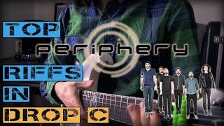 Top Periphery riffs in Drop C tuning