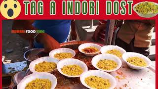 Indore Famous Poha | Indian Street Food