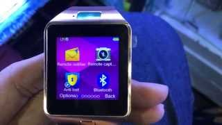 smart watch dz09 review by sabay kapaow