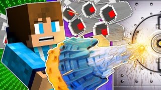 Minecraft | SUPER SNEAKY VAULT DRILLING | The Heist #6 Hacking Roleplay Adventure w/ TrueMU