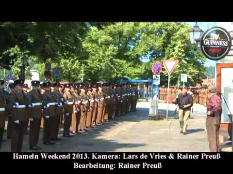 British Army Royal Engineers 28 Amphibious Regiment Hameln Weekend Freedom of the City Parades