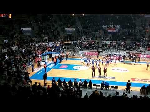 KK Zadar vs KK Cibona 30.11.17 Navijanje