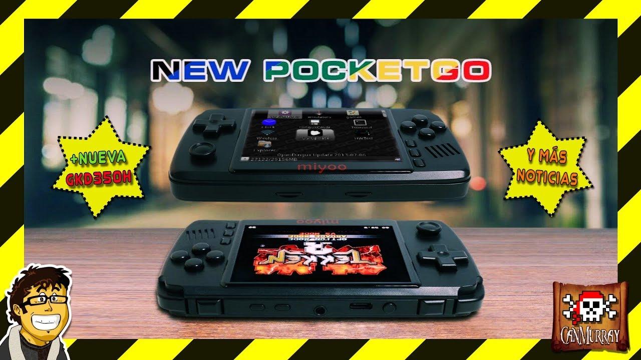New Pocketgo Miyoo Y Game Kiddy Gkd 350h Tearing En New Bittboy Solucionado Español Hd