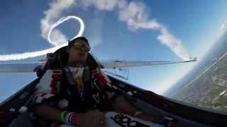 """Red Bull Solo Glider Luca Bertossio - """"Frecce Tricolori"""" 55th Anniversary"""