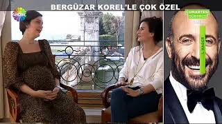 Bergüzar Korel on ShowTV part 1
