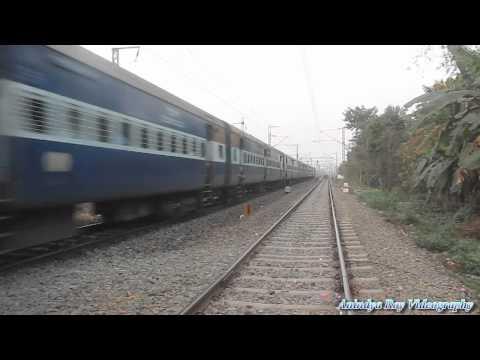 Howrah Bhadrakh Bagha Jatin Passenger speeding at Nalpur