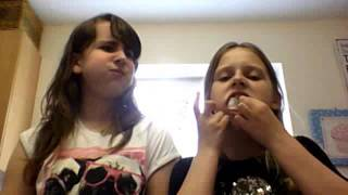 abi at home (chubby bunny challenge) Thumbnail