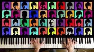 Beatles . Ob-la-di, Ob-La-Da . Solo Piano