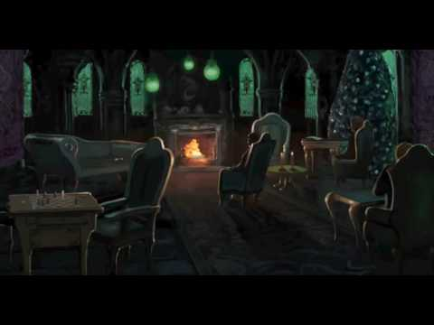 Harry Potter Ambience Slytherin Common Room Sound/White Noise [bubbling, papers shuffling]