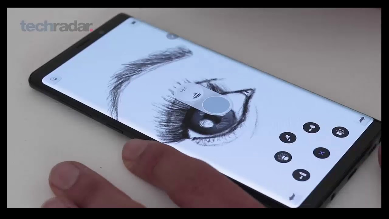Samsung Galaxy Note 9 Speed Drawing