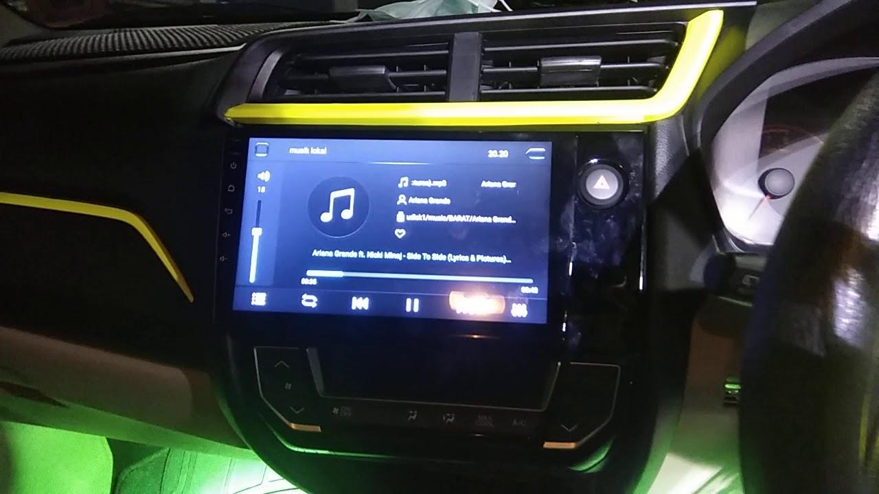 Head Unit Android 9inc Honda Brio