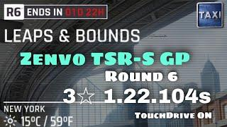Asphalt 9 - Zenvo TSR-S GP - R6 - 1.22.104s - Leaps \u0026 Bounds - 3☆ TouchDrive - No Commentary