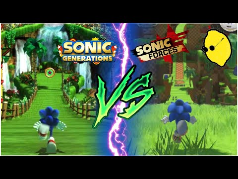 Sonic Forces VS Sonic Generations- Stage Comparison