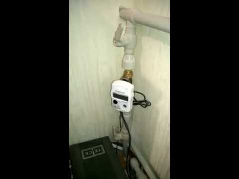 Установка тепловых счетчиков на вертикальной системе отопления