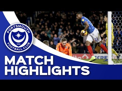 Highlights: Portsmouth 1-1 Bristol Rovers