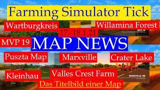 "[""LS19 MAP NEWS 17.-18.1.21"", ""Wartburgkreis"", ""Puszta Map"", ""Marxville"", ""Crater Lake"", ""Willamina Forest"", ""MVP 19"", ""Kleinhau"", ""Valles Crest Farm"", ""Sandveld South Africa"", ""FS19-LS19 Maps""]"