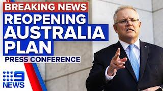Coronavirus: National Cabinet agree to reopening framework by Christmas   9 News Australia