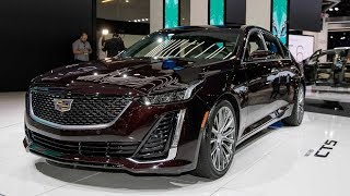 كاديلاك CT5 - معرض نيويورك للسيارات 2019