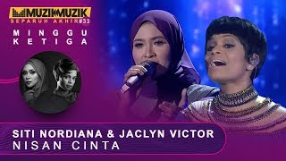 Download Nisan Cinta -  Siti Nordiana & Jaclyn Victor | #SFMM33 Mp3