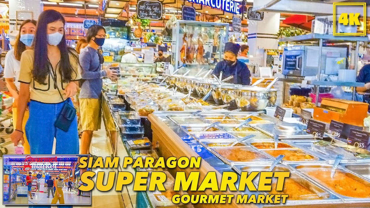 SIAM PARAGON Gourmet market(Luxury Supermarket)