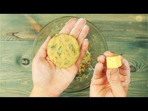 Картофельные шарики с сыром - Рецепты от Со Вкусом