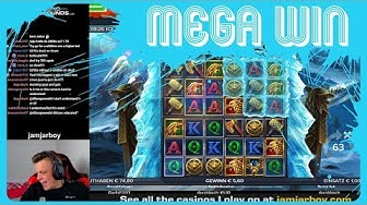 MEGA WIN on NEW GAME Ice Wolf