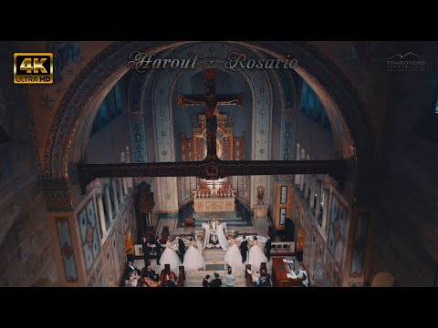 Harout + Rosario's 4K UHD GAY Wedding  In Regency Hall, St John Church And  Museum Of History