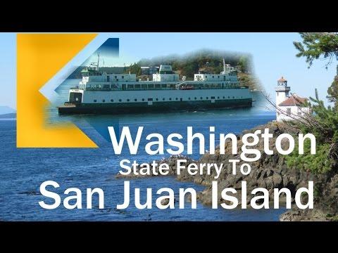 The Newest Washington State Ferry - MV Samish To The San Juan Islands Video