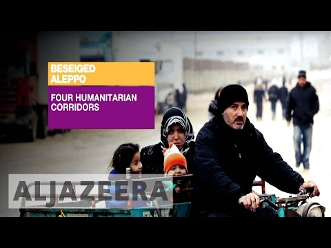 Inside Story - What's behind Russian humanitarian corridors in Aleppo?