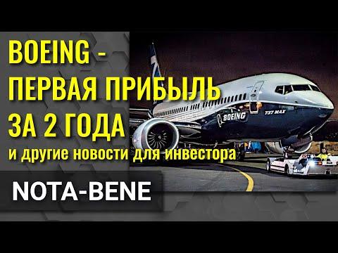Boeing показал прибыль. Юань рухнул. Spotify прёт