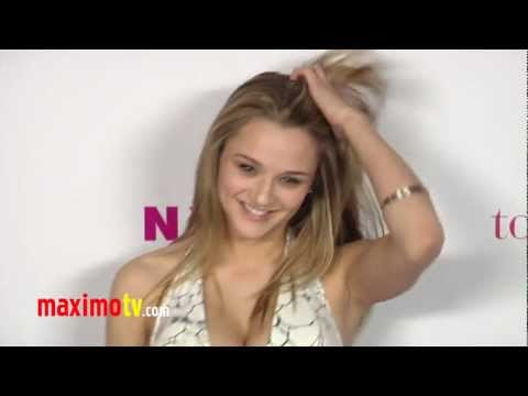 Hunter King NYLON Magazine Annual May Young Hollywood Issue Party ARRIVALS