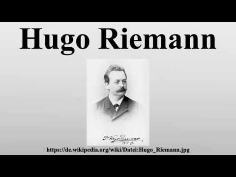 Hugo Riemann
