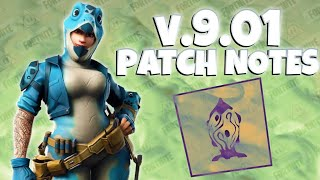 Fortnite : Mise à jour v9.01 Patch Notes - Save The World (fr) Pve